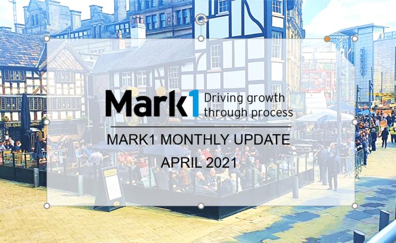 April update - Scene in Manchester city center